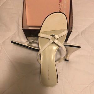White Dress Sandals